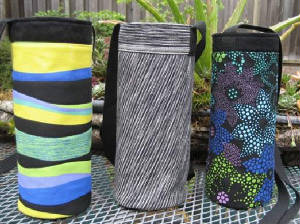 Insulated Water Or Wine Bottle Carriers